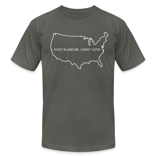 DON'T BLAME ME, I DIDN'T VOTE! - Men's  Jersey T-Shirt