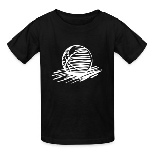 Bball black T - Kids' T-Shirt