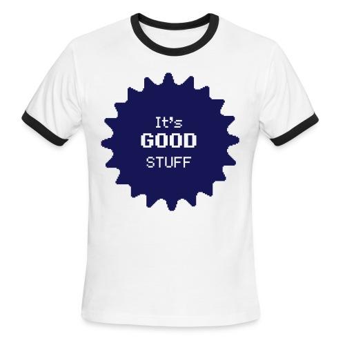Blue on Blue T-Shirt - Men's Ringer T-Shirt
