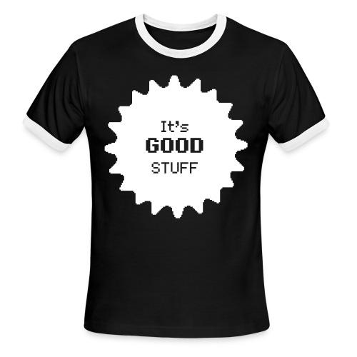 Black and White T-Shirt - Men's Ringer T-Shirt