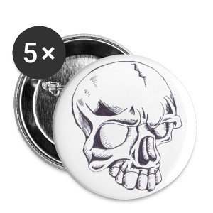 Skull button - Large Buttons