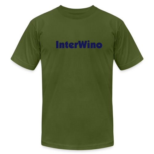 InterWino (Olive & Blue) - Men's  Jersey T-Shirt