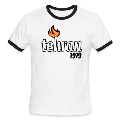 Tehran 1979 - Men's Ringer T-Shirt