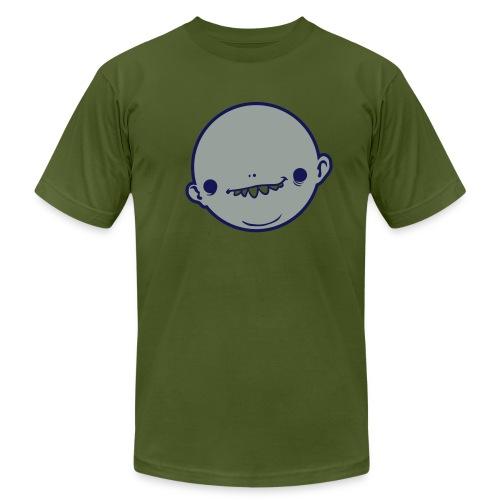 Alien Head  - Men's Fine Jersey T-Shirt