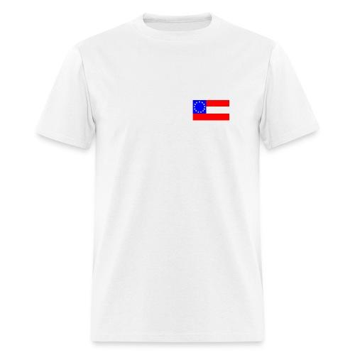 Stars and Bars T - Men's T-Shirt