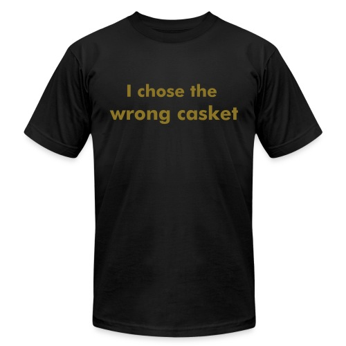 Wrong Casket (Merchant of Venice) - Men's Fine Jersey T-Shirt