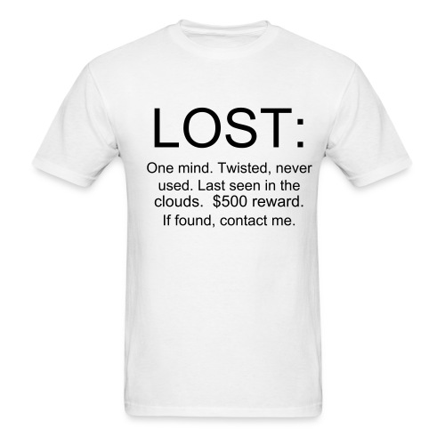 Lost tee white - Men's T-Shirt