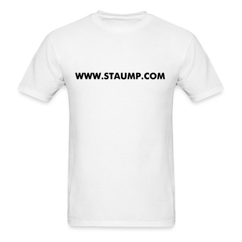 WWW.STAUMO.COM WHITE T - Men's T-Shirt
