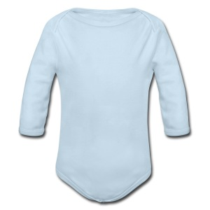 Plain One-z - Long Sleeve Baby Bodysuit