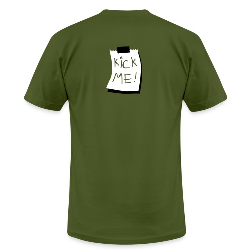 Kick Me T shirt - Men's  Jersey T-Shirt