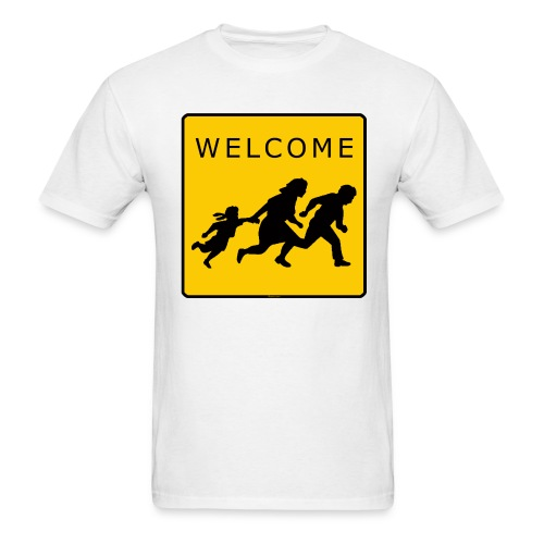 Welcome T  - ON SALE!!! (Was $19.90) - Men's T-Shirt