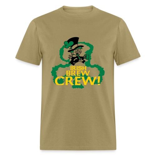 IRISH BREW CREW - Men's T-Shirt