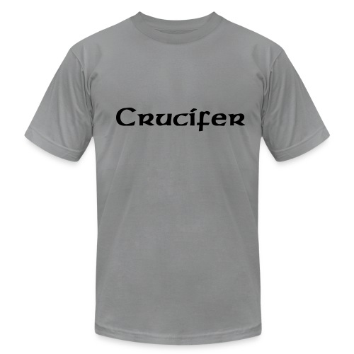 Crucifer Defenition Shirt with Sleeve Print - Men's Fine Jersey T-Shirt