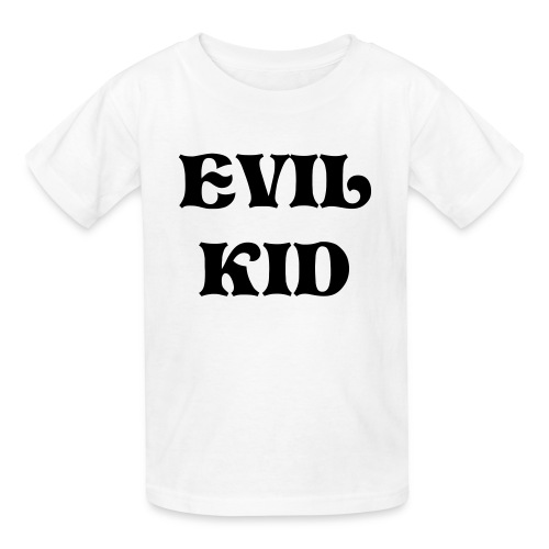 Evil Kid Kids Shirt - Kids' T-Shirt