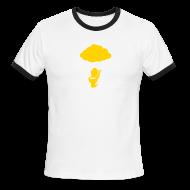 T-Shirts ~ Men's Ringer T-Shirt ~ [poop]