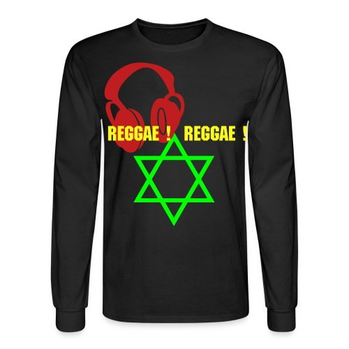 DE MUSIC OF RASTAFARI! - Men's Long Sleeve T-Shirt