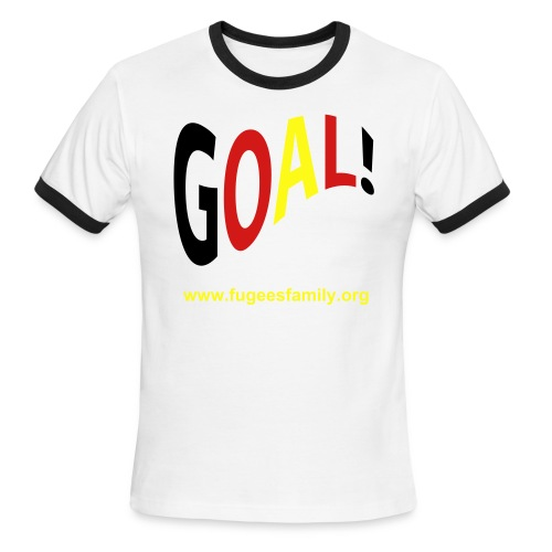 GOAL t-shirt green - Men's Ringer T-Shirt