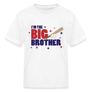 I'm the Big Brother Baseball - Kids' T-Shirt