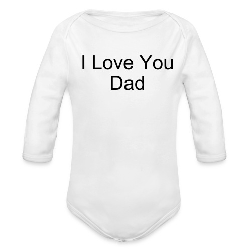 Make Your Own... (White) One size - Organic Long Sleeve Baby Bodysuit