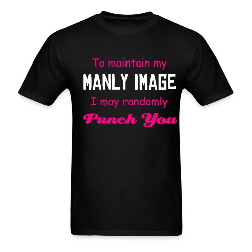 Manly Image - Men's T-Shirt