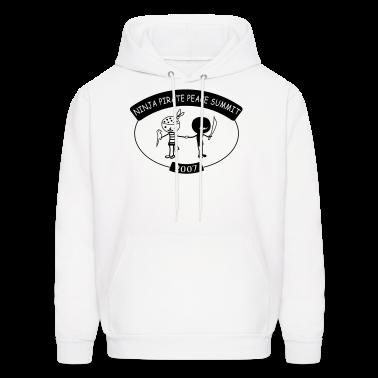 White Pirate Ninja Peace Summit Sweatshirt