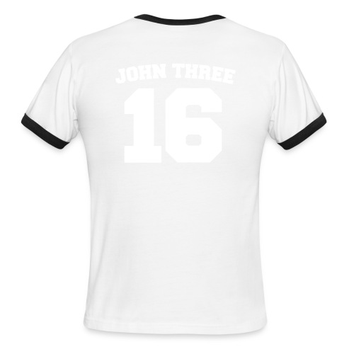 John Three 16 - Men's Ringer T-Shirt