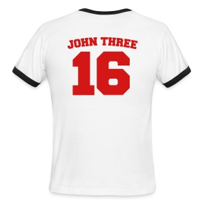 John Three 16 - Men's Ringer T-Shirt
