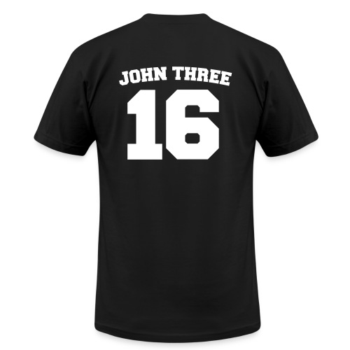 John Three 16 - Men's Fine Jersey T-Shirt