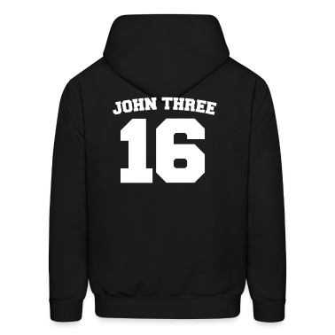 Noir John Three 16 Jersey Sweatshirt