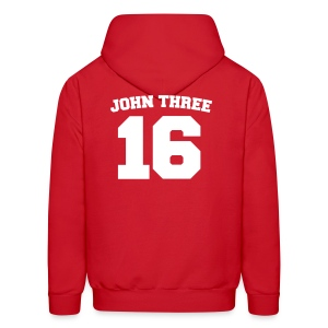 John Three 16 - Men's Hoodie