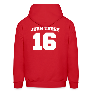 Red John Three 16 Jersey Sweatshirt