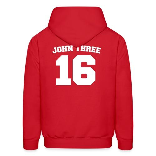 John Three 16 - Men's Hoodie