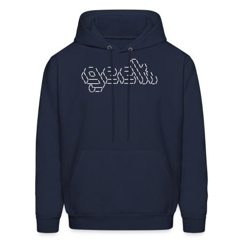 Geek ascii Art - Men's Hoodie