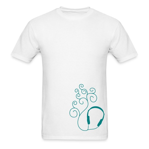 Curled Sound - Men's T-Shirt