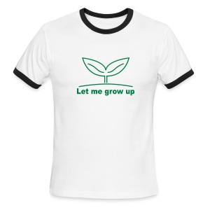 grow up happy - Men's Ringer T-Shirt
