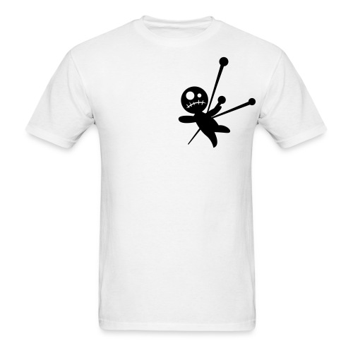Voodoo Shoulder White - Men's T-Shirt