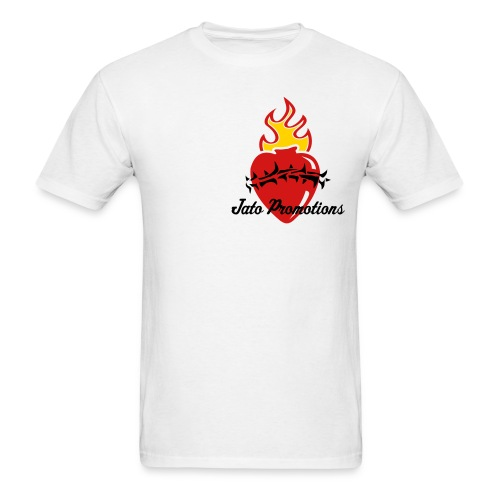 Heart Jato White - Men's T-Shirt