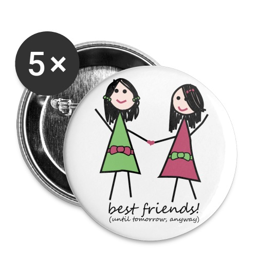 Best Friends Badges - Small Buttons