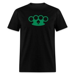 Brass knuckles & spades - Men's T-Shirt
