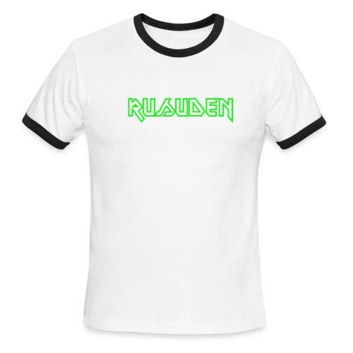 Rusuden MAIDEN-font  - Men's Ringer T-Shirt