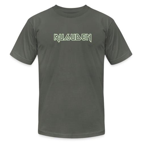 Rusuden MAIDEN-font glow-in-the-dark - Men's Fine Jersey T-Shirt