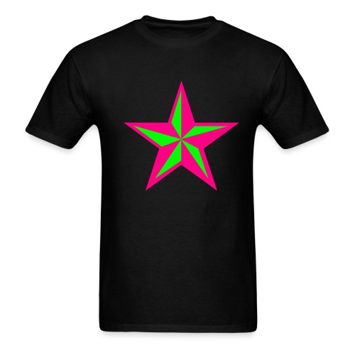 Mosh Hard..Fight Harder - Men's T-Shirt