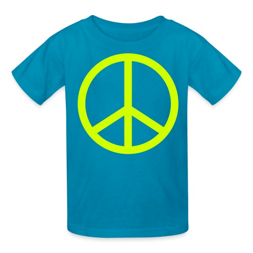 Peace. - Kids' T-Shirt