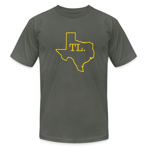 texas TL tee - Men's Fine Jersey T-Shirt