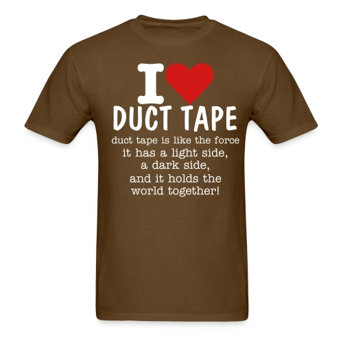 I *HEART* DUCT TAPE - Men's T-Shirt