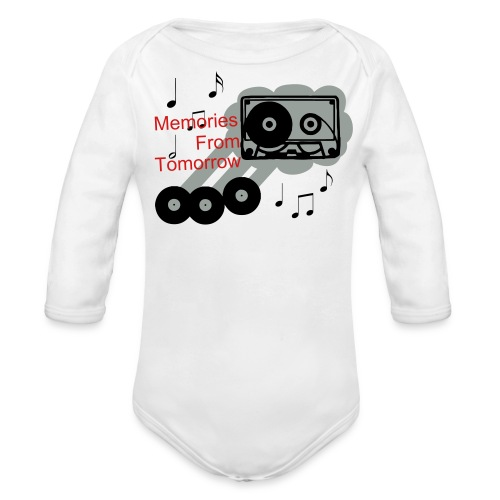 Memories From Tomorrow One size - Organic Long Sleeve Baby Bodysuit