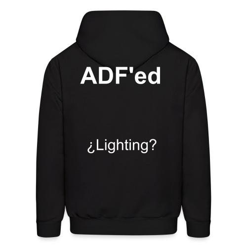ADF'ed (costom text) - Men's Hoodie