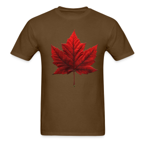 Canada Maple Leaf Souvenir T-shirt Mens Souvenir Tee - Men's T-Shirt