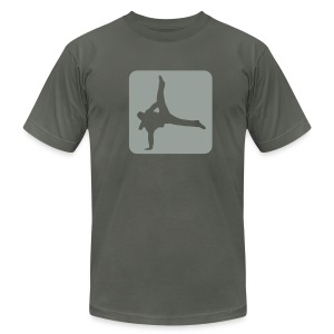 * Break Dance - Men's T-Shirt by American Apparel
