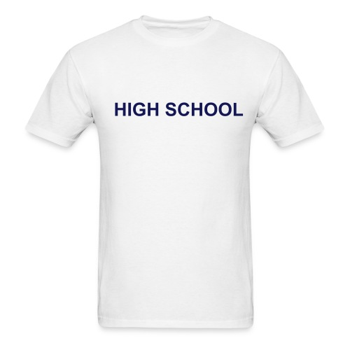 Mens' High School T-Shirt - Men's T-Shirt